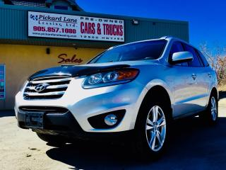 Used 2012 Hyundai Santa Fe Limited 3.5 $113.94 BI WEEKLY! $0 DOWN! CERTIFIED! for sale in Bolton, ON