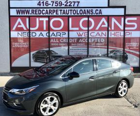 Used 2017 Chevrolet Cruze Premier Auto PREMIER-ALL CREDIT ACCEPTED for sale in Scarborough, ON