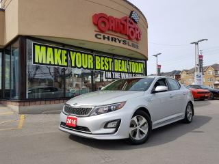 Used 2016 Kia Optima LX HYBRID REAR CAMERA ALLOY WHEELS H-TED SEATS for sale in Scarborough, ON