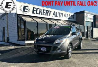 Used 2013 Ford Escape SEL ECOBOOST WITH LEAHTER / NAV / SUNROOF for sale in Barrie, ON