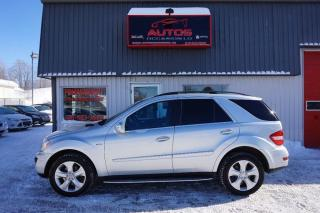 Used 2010 Mercedes-Benz ML-Class AWD for sale in Saint-romuald, QC