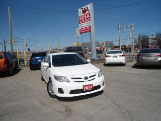 Used 2013 Toyota Corolla AUTO VERY LOW KM BLUETOOTH NO ACCIDENT NO RUST A/C for sale in Oakville, ON