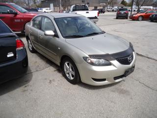 Used 2004 Mazda MAZDA3 GS for sale in Sarnia, ON