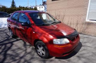 Used 2006 Pontiac Wave NEGOCIABLE for sale in Mascouche, QC