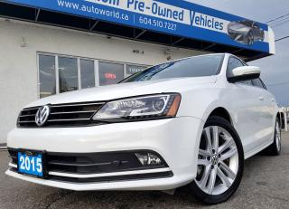 Used 2015 Volkswagen Jetta HIGHLINE TDI for sale in Langley, BC