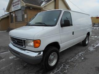 Used 2005 Ford E-250 CARGO 5.4L V8 Divider A/C Tilt Cruise ONLY 114Km for sale in Etobicoke, ON