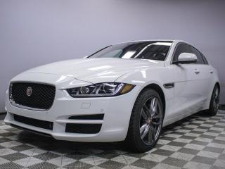 Used 2017 Jaguar XE SC R-Sport- Original Retail Price $58,900 - 4yr/80000kms manufacturer warranty included until March 31, 2021 Locally Owned and Serviced | No Accidents | 3M Protection Applied | Reverse Traffic/Blind Spot/Closing Vehicle Sensors | Navigation | Heated Sport for sale in Edmonton, AB