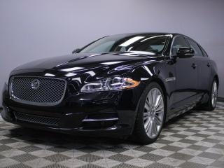 Used 2011 Jaguar XJ XJL - Local Alberta Vehicle | No Accidents | Rear Sunshades | Bluetooth | Blind Spot Monitor | Heated/Cooled Front/Rear Seats | Massage Seats | Suede Headliner | Heated Steering Wheel | Heated Windshield with Rain Sensing Wipers | Adaptive Headlamps with  for sale in Edmonton, AB