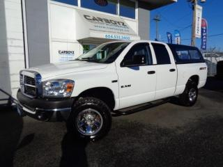 Used 2008 Dodge Ram 1500 SXT Quad Cab 4x4, 5.7L, Tow Package, Low Kms!! for sale in Langley, BC