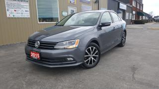 Used 2015 Volkswagen Jetta Comfortline-TDI-SUNROOF-HEATED SEATS-REVERSE CAMER for sale in Tilbury, ON