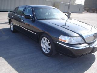 Used 2011 Lincoln Town Car L SERIES,BLK/BLK for sale in Mississauga, ON