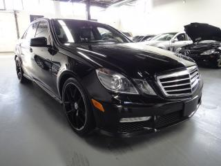 Used 2010 Mercedes-Benz E63 AMG E 63 AMG EVERY OPTION!NAVI,MASSAGE SEATS,CLEAN for sale in North York, ON