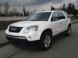 Used 2007 GMC Acadia SLT1 for sale in Surrey, BC