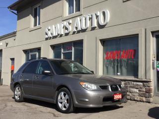 Used 2006 Subaru Impreza 2.5i for sale in Hamilton, ON