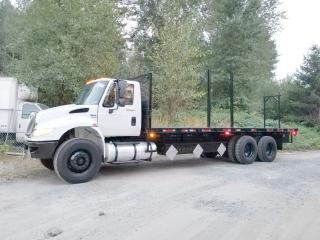 Used 2009 International DuraStar Flatbed for sale in Abbotsford, BC
