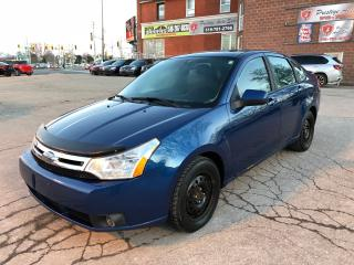 Used 2009 Ford Focus SES/ONE OWNER/CERTIFIED/WARRANTY INCLUDED for sale in Cambridge, ON