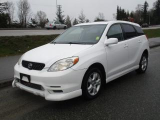 Used 2004 Toyota Matrix XR for sale in Surrey, BC