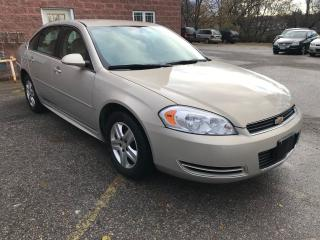 Used 2009 Chevrolet Impala LS/ONE OWNER/NO ACCIDENT/CERTIFIED/WARRANTY INCLUD for sale in Cambridge, ON