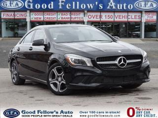 Used 2014 Mercedes-Benz CLA250 4 MATIC, PAN ROOF, HEATED SEATS, REARVIEW CAMERA for sale in North York, ON
