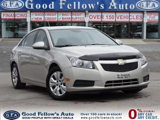 Used 2013 Chevrolet Cruze LT TURBO MODEL, Power Windows, Power Door Locks for sale in North York, ON