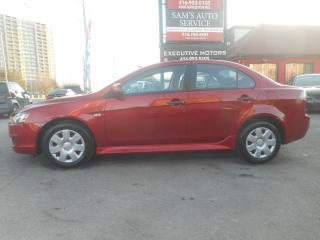 Used 2010 Mitsubishi Lancer low km for sale in Scarborough, ON