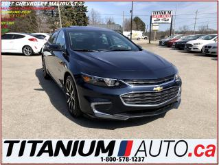 Used 2017 Chevrolet Malibu LT-2+GPS+Camera+Pano Roof+Leather Heated Seats+ECO for sale in London, ON