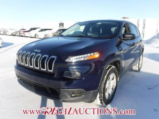 Used 2014 Jeep CHEROKEE SPORT 4D UTILITY 4WD 2.4L for sale in Calgary, AB