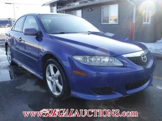 Used 2004 Mazda MAZDA6  4D SEDAN V6 for sale in Calgary, AB