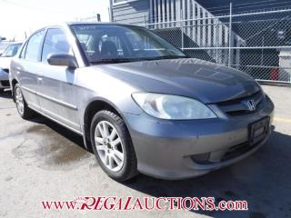 Used 2005 Honda Civic 4D Sedan for sale in Calgary, AB