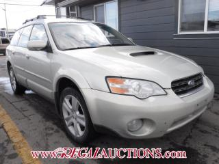 Used 2006 Subaru OUTBACK XT 4D WAGON AWD for sale in Calgary, AB