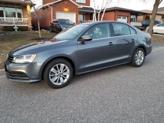 Used 2016 Volkswagen Jetta TRENDLINE PLUS for sale in Stoney Creek, ON