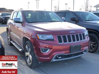 Used 2014 Jeep Grand Cherokee Overland for sale in Mississauga, ON