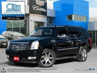 Used 2014 Cadillac Escalade AWD for sale in North York, ON