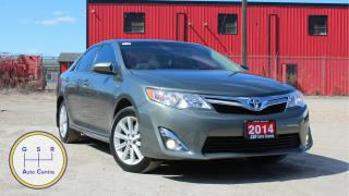 Used 2014 Toyota Camry HYBRID XLE | HYBRID | POWER SEATS | TINTED WINDOWS | EVERYONE GETS FINANCED! for sale in Hamilton, ON