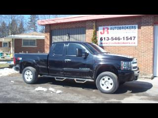Used 2010 Chevrolet Silverado 1500 Z71 Ext Cab 4X4 - Nice Looking Rig for sale in Elginburg, ON