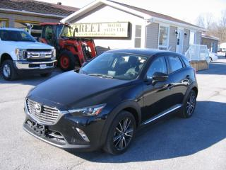 Used 2016 Mazda CX-3 GT AWD SkyActiv for sale in Smiths Falls, ON