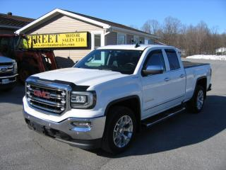 Used 2016 GMC Sierra 1500 SLT DoubleCab 4x4 LEATHER NAV for sale in Smiths Falls, ON