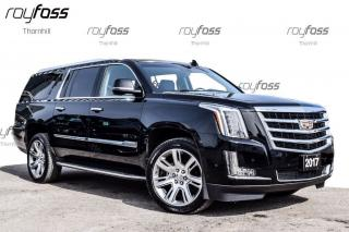 Used 2017 Cadillac Escalade ESV Luxury DVD nav Roof Tow Pkg for sale in Thornhill, ON