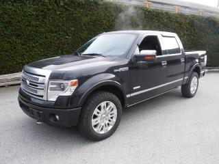 Used 2014 Ford F-150 Platinum SuperCrew 5.5-ft. Bed 4WD for sale in Burnaby, BC
