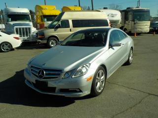 Used 2010 Mercedes-Benz E-Class E350 Coupe 2WD for sale in Burnaby, BC