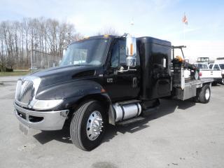 Used 2004 International 4400 Diesel DT530 Flat Deck Sleeper Cab Air Brakes for sale in Burnaby, BC