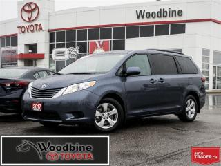 Used 2017 Toyota Sienna LE TSS! FACT. WARRANTY 8 PASS! for sale in Etobicoke, ON