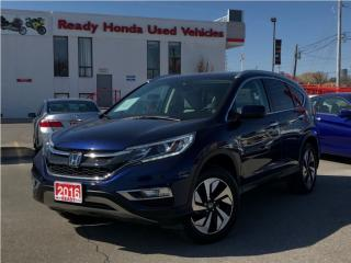 Used 2016 Honda CR-V Touring - Navigation - Leather - Sunroof for sale in Mississauga, ON