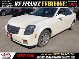 Used 2004 Cadillac CTS Luxury for sale in Hamilton, ON