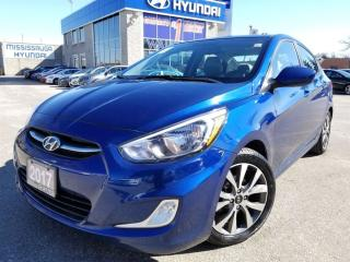 Used 2017 Hyundai Accent GLS-Alloy Rims-Sunroof for sale in Mississauga, ON