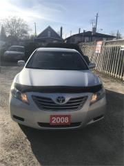 Used 2008 Toyota Camry HYBRID LE for sale in Hamilton, ON