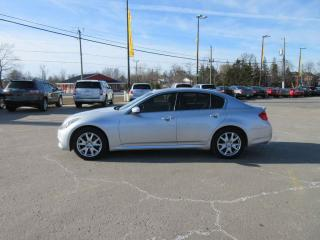 Used 2010 Infiniti G37X SPORT AWD for sale in Cayuga, ON