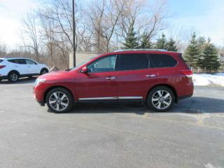 Used 2016 Nissan PATHFINDER PLATINUM 4WD for sale in Cayuga, ON