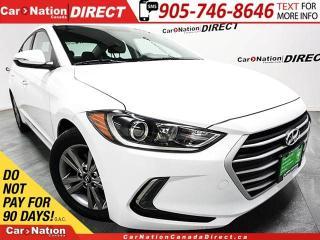 Used 2018 Hyundai Elantra GL| BLIND SPOT DETECTION| BACK UP CAMERA| for sale in Burlington, ON