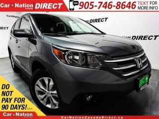 Used 2014 Honda CR-V EX-L| AWD| LEATHER| SUNROOF| BACK UP CAMERA| for sale in Burlington, ON